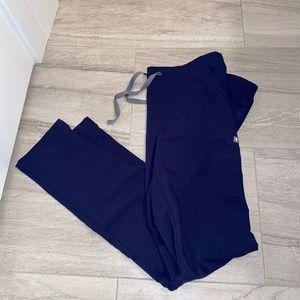 NWOT Figs Navy Blue Scrub Pants